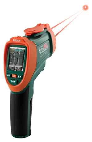 EXTECH VIR50 : Dual Laser IR Video Thermometer