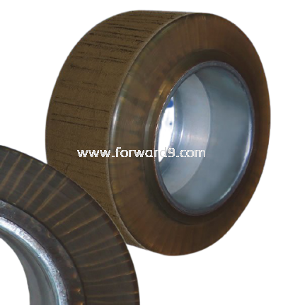 Reach Truck Cold Room Polyurethane (PU) Drive Wheel with Wire Mesh