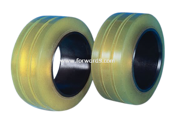 Reach Truck Cold Room Polyurethane (PU) Load Wheel with Grooving