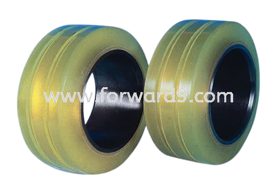 Reach Truck Cold Room Polyurethane (PU) Load Wheel with Grooving  Reach Truck Wheel Wheels and Tyres