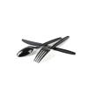 Black spoon and fork Spoon & fork Spoon & fork