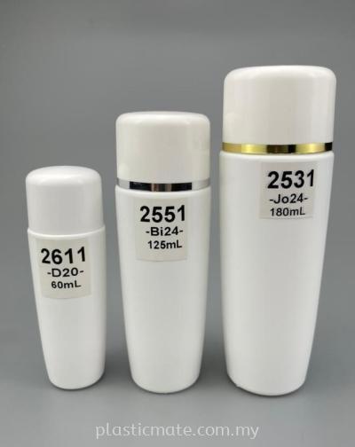 60-180ml Bottle for Toner : 2611 & 2551 & 2531