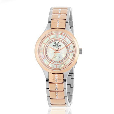 ROSCANI LEXI E17696 SOLID STAINLESS STEEL BAND WOMEN WATCH