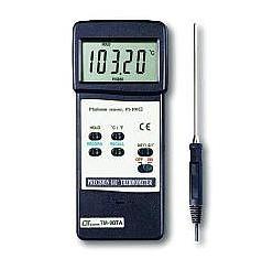 LUTRON TM-907A PRECISION 0.01 DEGREE THERMOMETER