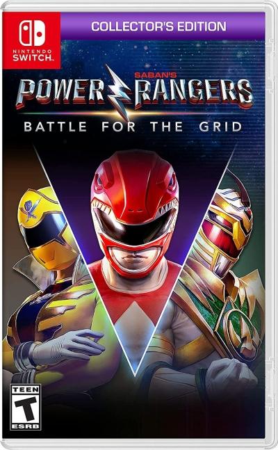 Nintendo Switch Power Rangers Battle for the Grid
