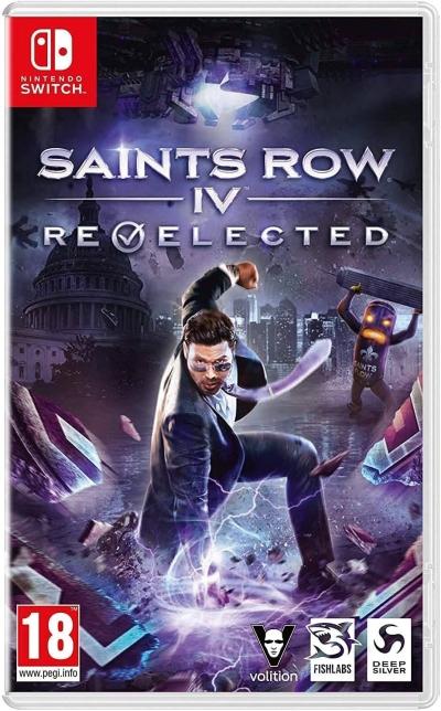 Nintendo Switch Saints Row IV Re-elected