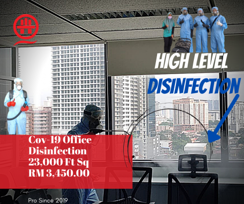 1 Place To Get Best Deals On Professional Disinfection Services In KL. Call Now.