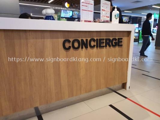 3d pvc cut out lettering shopping mall signage signboard at klang kuala lumpur puchong shah alam