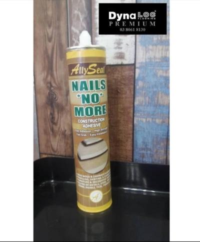 Allyseal Nail No More Construction Adhesive