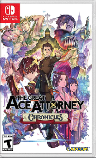Nintendo Switch The Great Ace Attorney Chronicles