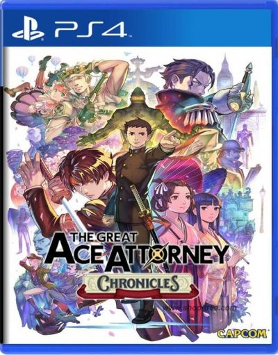 PS4 The Great Ace Attorney Chronicles (R3)English