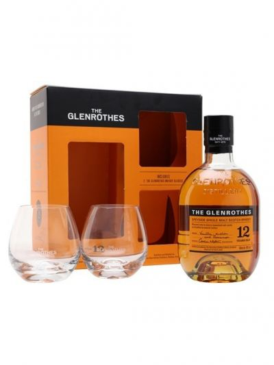 The Glenrothes '12 Years Old' Single Malt Scotch Whisky With Glass