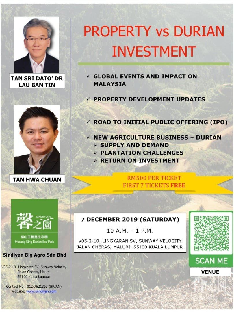 PROPERTY vs DURIAN INVESTMENT