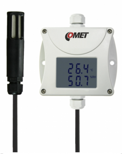 COMET T3319 Industrial temperature and humidity transmitter - RS232 output