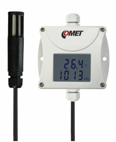 COMET T7411 Industrial temperature, humidity, bar. pressure transmitter - RS485 output