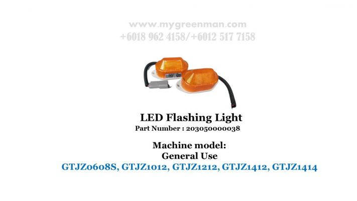Scissor Lift Spare Part - LED Flashing Light 203050000038