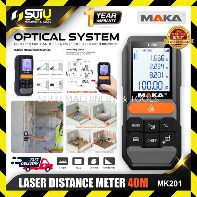 MAKA MK201 40M Professional Precision Laser Distance Meter 100% ORIGINAL