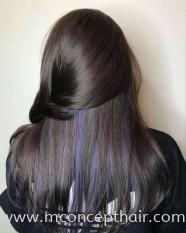 Violet Purple Ear Dye Highlight