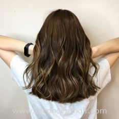 Ash Brown Babylight Hair Color