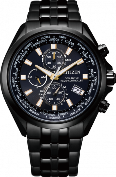 CITIZEN ECO-DRIVE PERPETUAL CANLENDAR AT8205-83L RADIO-CONTROLLED