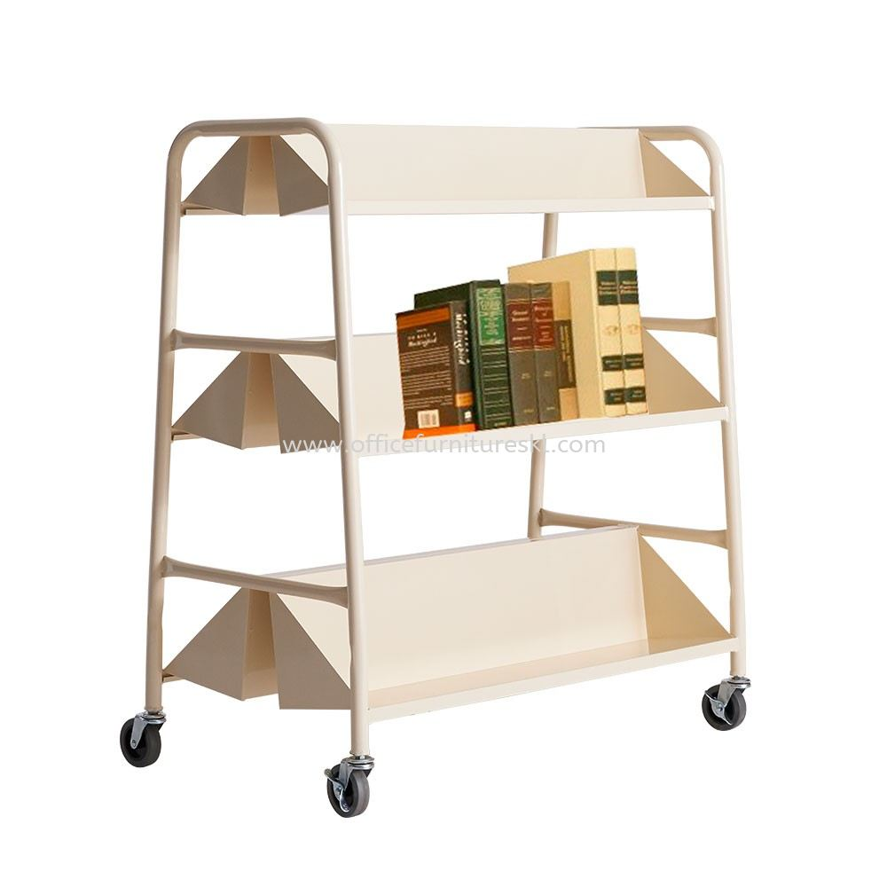 MOBILE BOOK TROLLEY 2