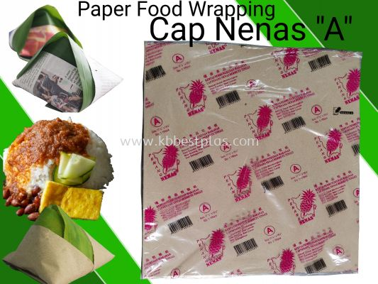 Paper Food Wrapping ''A'' 100pcs+/-