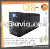 KOSS Sylion 1000VA 1KVA UPS w 2x 12V 7Ah Batteries Battery 4x UK Socket Digital Display Voltage Stabilization S-125EL  CABLE / POWER/ ACCESSORIES