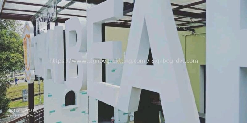 thai bear mookata buffet 3d led frontlit lettering signage signboard at klang kuala lumpur puchong shah alam