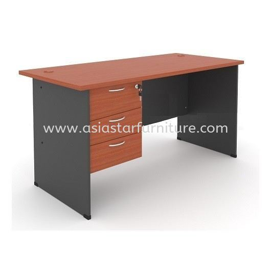 5' Office Table/desk | Study Table | Computer Table c/w Hanging Drawer (Color Cherry) - office table/desk Cheras | office table/desk Mahkota Cheras | office table/desk Taman Maluri