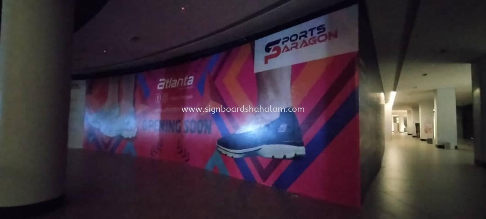 Paragon Vest Petaling Jaya - Hording Board Indoor