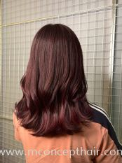 Red Wine Hair Color