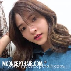 Natural Brown With Highlights Hair Color