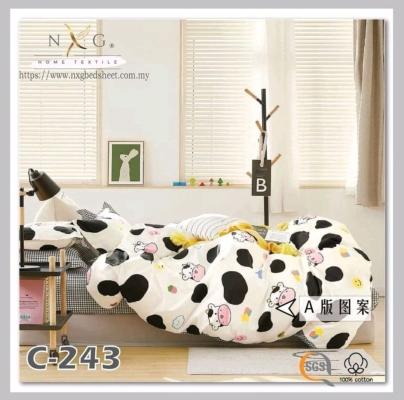 C243 - 100% Cotton King/Queen Comforter Set