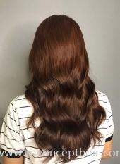Natural Chocolate Brown Hair Color