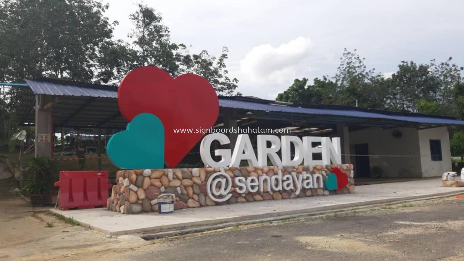 Love Garden Nursery  Seremban - Aluminum Box Up Signage