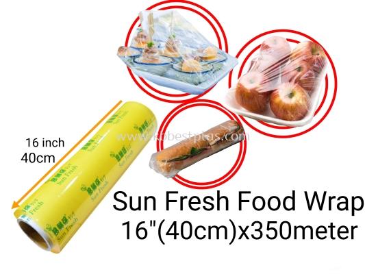 "Sun Fresh Food Wrapping 16""(40cm)x350meter"