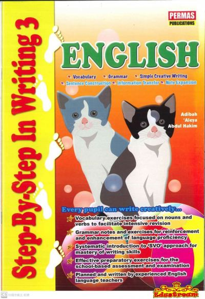 STEP BY STEP IN  WRITING 3 ENGLISH