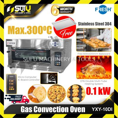 FRESH YXY-10DI 1 Layer Industrial Gas Convection Oven 0.1kW