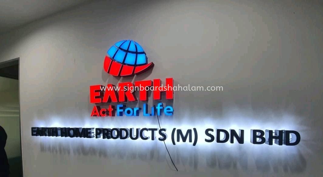 Earth Home (Malaysia) Sdn Bhd PJ - 3D Backlit Signboard