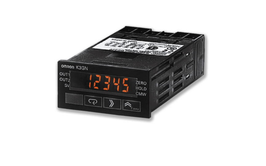 OMRON K3GN 1/32 DIN Digital Panel Meter for Downsizing Equipment and Control Panels