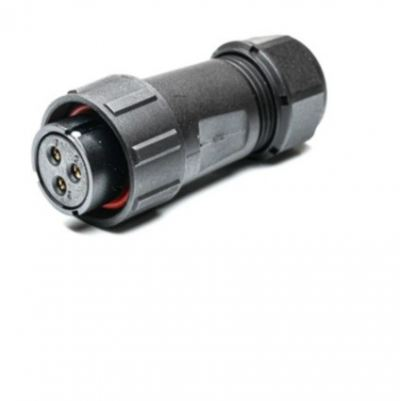 207-2327 - RS PRO Cable Mount Circular Connector, 3 Contacts