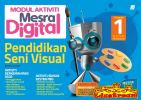 Sasbadi Modul Aktiviti Mesra Digital Pendidikan Seni Visual Tahun 1 Sasbadi SK Books