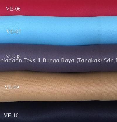 VE-01~VE-31 (VENUS COLLECTION) BLACKOUT CURTAIN PLAIN 60''