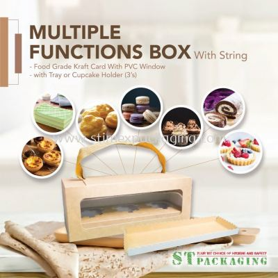 Multiple Functions Box with String and Tray @ RM3.00/set x��15sets��=