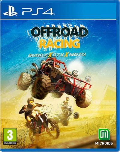 PS4 Offroad Racng - Buggy x ATV x Moto