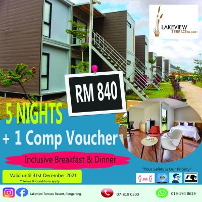 Stay for 5 Nights and get 1 Night Complimentary Voucher
