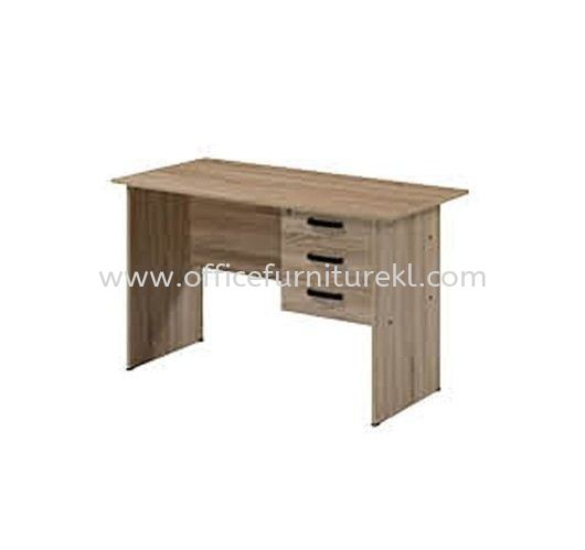4' OFFICE TABLE   STUDY TABLE   COMPUTER TABLE C/W HANGING PEDESTAL 3D AMP1 1260 (Color Solama Oak) - office table Damansara Heights   office table Dataran Prima   office table Taman Perindustrian Berjaya   office table Top 10 Best Design