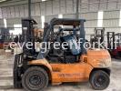Toyota forklift 4 Ton Toyota Diesel Forklift  Rental forklift