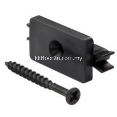 Nylon Clips & SS Tapping Screw Blk