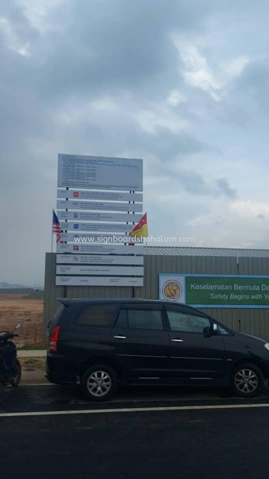 C&G Satujaya Klang - Project Signage